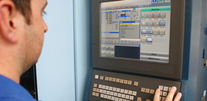 Mazak CNC machine controller