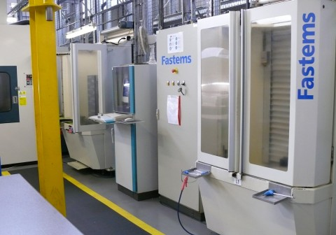 Fastems Manufacturing System at Tewkesbury |