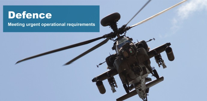 Defence industry manufacturing subcontractor
