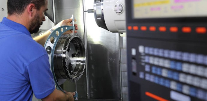 Mazak precision CNC machining