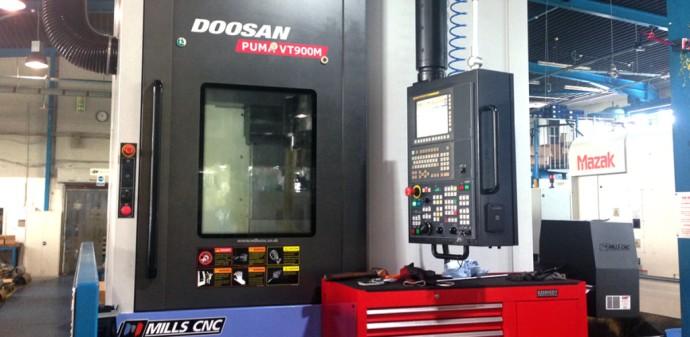 Doosan Puma VT900M CNC Lathe