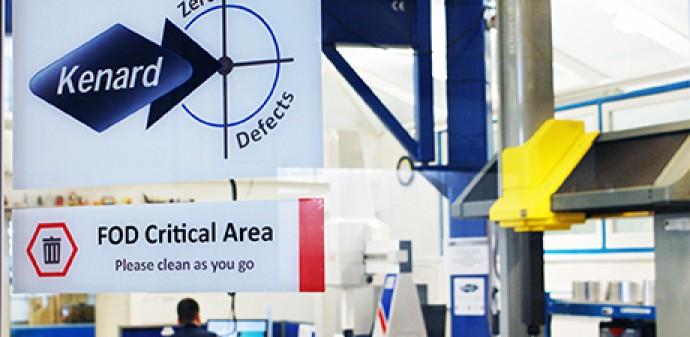 Kenard Engineering Zero Defects Inspection Area