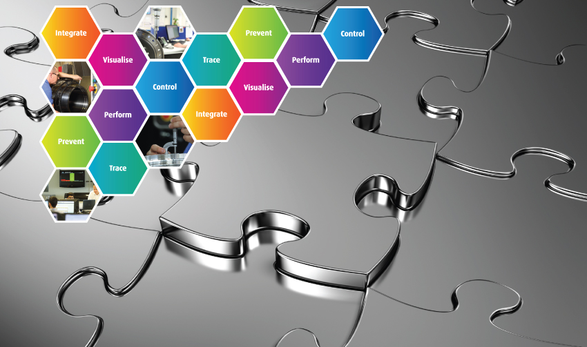 Integrated manufacturing for precision machining