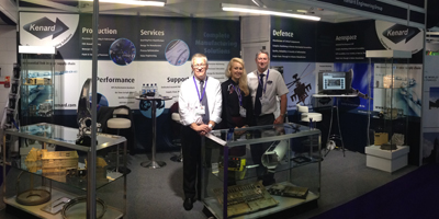 Kenard at Defence UK manufacturing exhibition