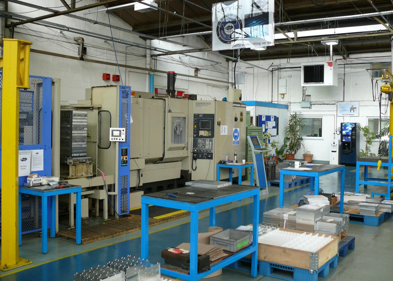 Kenard Engineering Tewkesbury CNC Machining Capacity