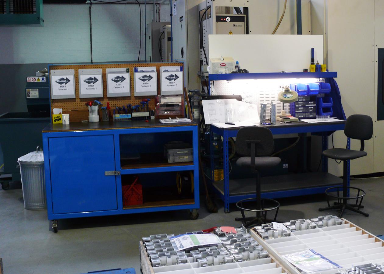 Kenard Engineering Tewkesbury Fastems CNC Machining Capacity