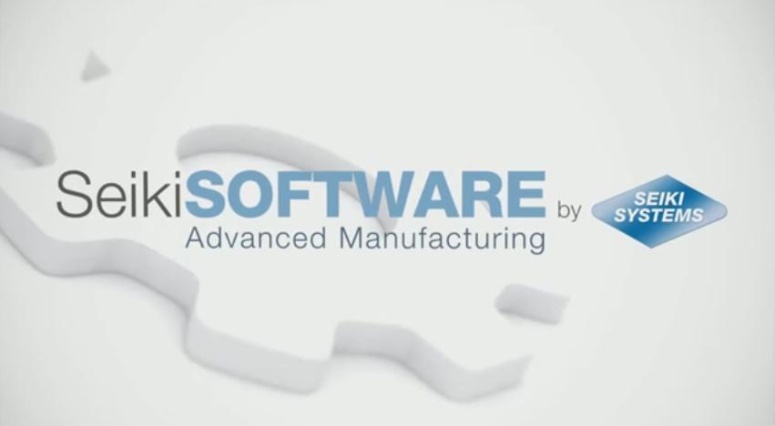 Seiki manufacturing software on YouTube