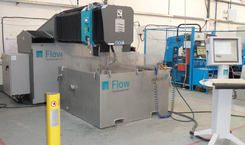 Mach 3 131b waterjet cutting machine