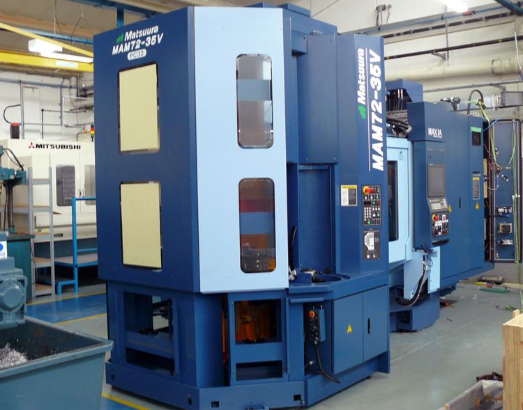 Matsuura 5 Axis CNC Machining Centre