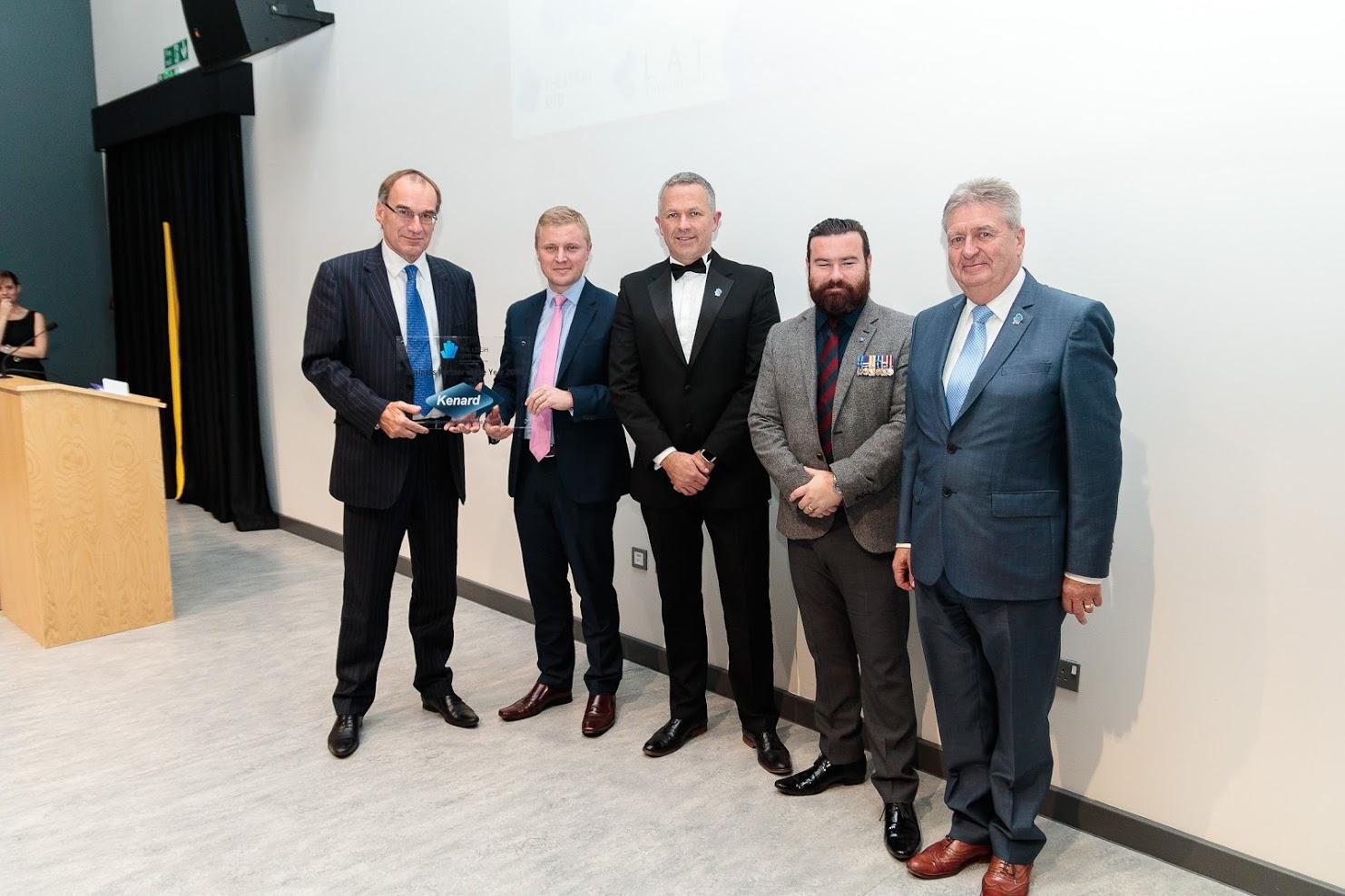 Kenard business partner of the year award