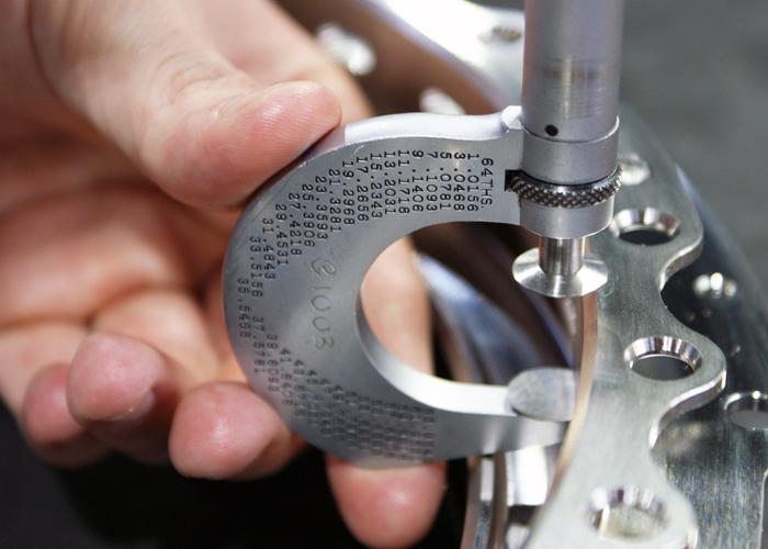 Close tolerance CNC machining