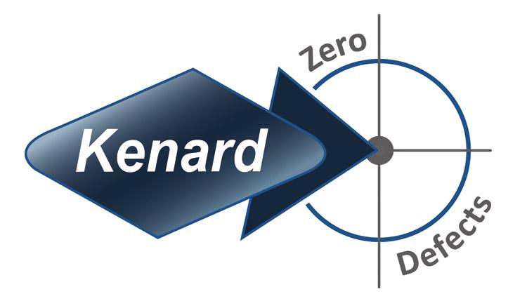Kenard Engineering Zero Defects Logo