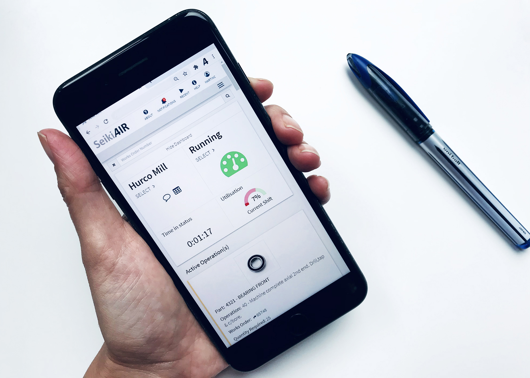 Seiki AIR Smart Factory Solution